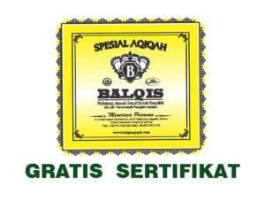 gratis sertifikat